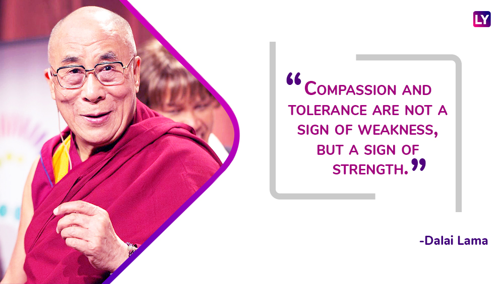 a symbol of peace and love quotes by tenzin gyatso are world known as the 14th dalai lama turns 83 we take a look at some of his famous sayings
