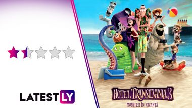 Hotel Transylvania 3 - Summer Vacation Movie Review: The