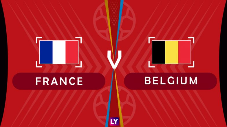 France vs Belgium, Live Streaming of Semifinal: Get Knockout Match FRA vs BEL Telecast & Free Online Stream Details in India for 2018 FIFA World Cup
