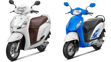 2018 Honda Activa i & Honda Aviator Scooters Launched; Priced in India at Rs 50,010 and Rs 55,157 Respectively