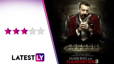 Saheb Biwi Aur Gangster 3 Movie Review: Jimmy Sheirgill and Mahie Gill's Standout Performances and Sanjay Dutt's Gangsta Act Add Spunk to This Twisty Thriller