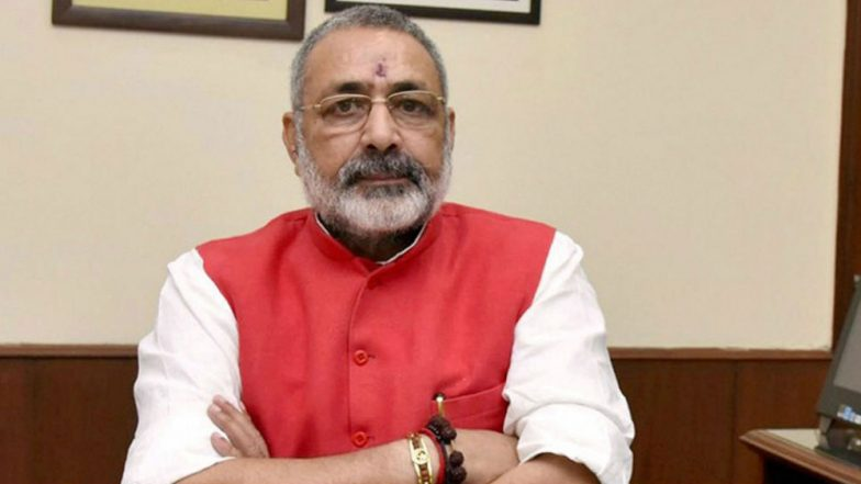 Giriraj Singh Censured by Election Commission For His 'Grave' Remark, Poll Body Tells Him to be 'Careful'