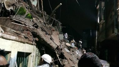 Bhiwandi Buiding Collapse: Portion of a Three Storey Building Comes Crashing Down, Many Feared Trapped