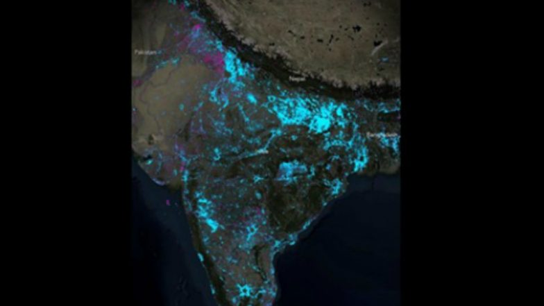 Electrification in India Lauded by National Geographic as Shown on Nelson Map, Says Still a lot of Work to be Done (View Pic)