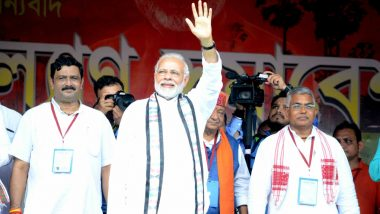 PM Narendra Modi's Midnapore Rally: Centre Seeks Report From West Bengal Government on Tent Collapse