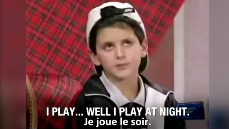 Novak Djokovic's Interview as a 7-Year-Old Proves He is a True Champion, Watch Video Where He Says, 'Tennis is a Duty for Me'