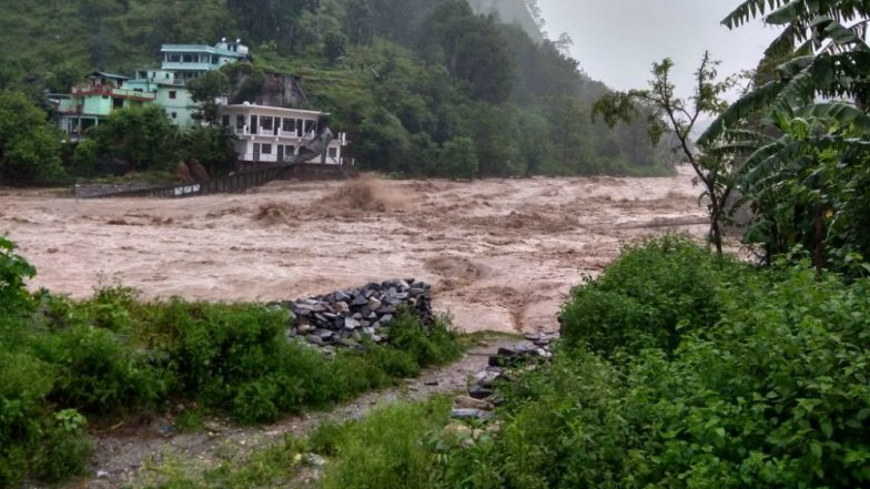 Uttarakhand Weather Update: Suspension Bridge at Pithoragarh's Nachni Washed Away After Heavy Rains