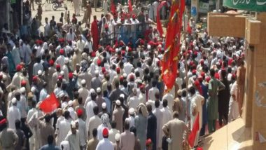 Pakistan Elections 2018: Awami National Party Workers Stage Protest Against Rigging in Polls