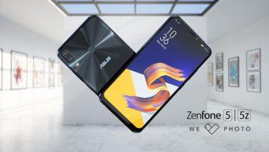 Asus Zenfone 5Z 8GB RAM Variant First Sale on July 30 at Flipkart