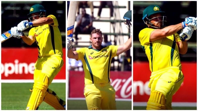 Aaron Finch Records Highest Score by a Batsman in T20Is, Achieves Feat During AUS vs ZIM Match