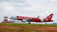 AirAsia Flight From Jaipur, With 70 Passengers, Makes Full Emergency Landing in Hyderabad Due to Fuel Issues