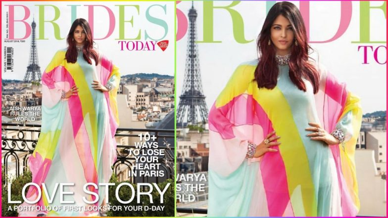 Aishwarya Rai Bachchan Stuns in Colourful Ralph & Russo Outfit on the Cover of Brides Today Magazine! See Pic