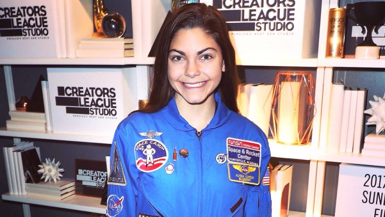 Alyssa Carlson, 17-Year Old Training to go to Mars on First Manned Mission in 2033