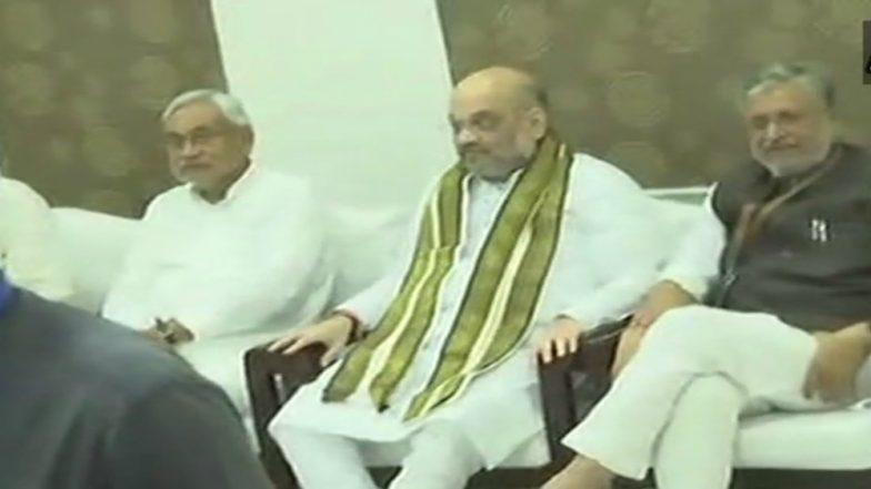 BJP President Amit Shah Meet Nitish Kumar, Discuss About 2019 Lok Sabha Elections Strategies