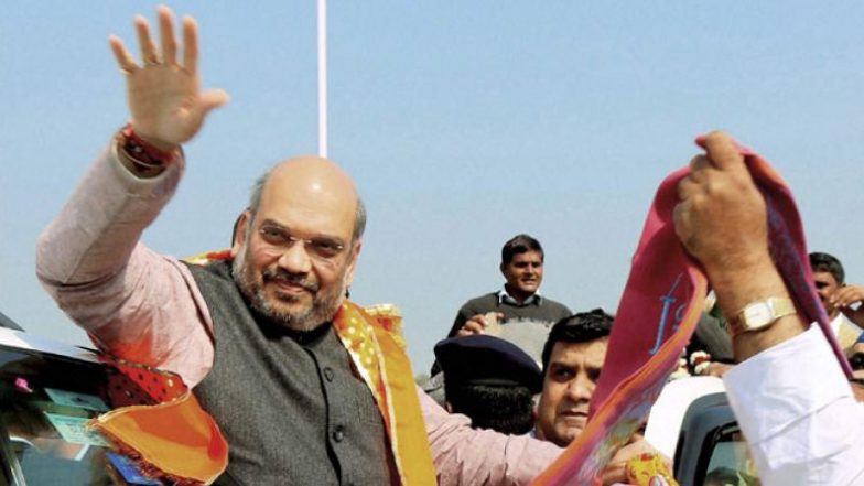 Lok Sabha Elections 2019: Amit Shah Announces BJP's Sankalp Patra; Rajnath Singh to Head Manifesto Committee, Arun Jaitley to Handle Publicity