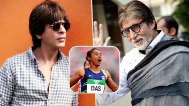 Hima Das Wins Gold at IAAF World U20: Shah Rukh Khan, Amitabh Bachchan, Akshay Kumar and Other Celebs Congratulate Her