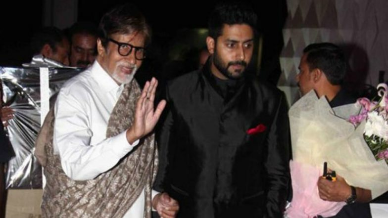 Amitabh Bachchan Cries After a Fan Shares Throwback Video Featuring Him and Son Abhishek