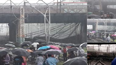 Mumbai Rains: Bridge at Grant Road Station Develops Crack, Traffic Diverted, Local Trains Unaffected