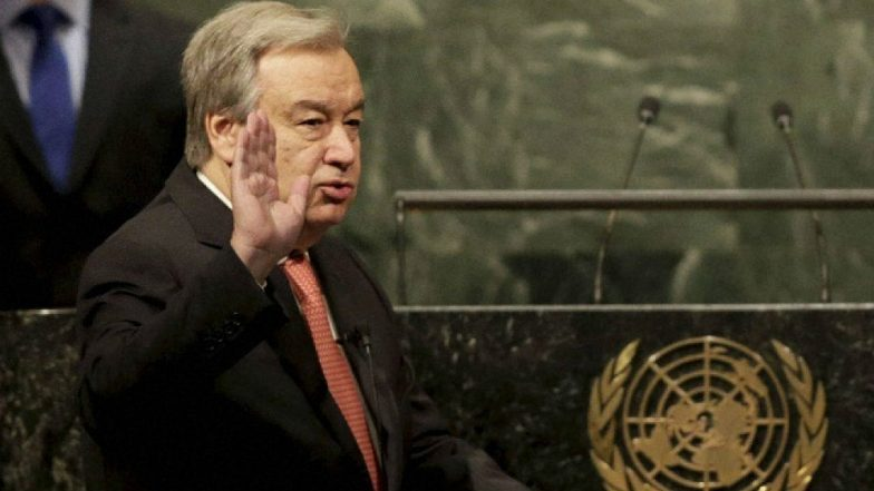 UN Chief Antonio Guterres Supports Zeid's Call for Human Rights Probe in Jammu and Kashmir
