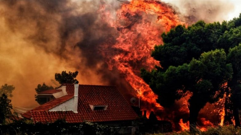 Raging Wildfire Kills 50 People in Athens, Greece; Other EU Countries Reporting Blazes too