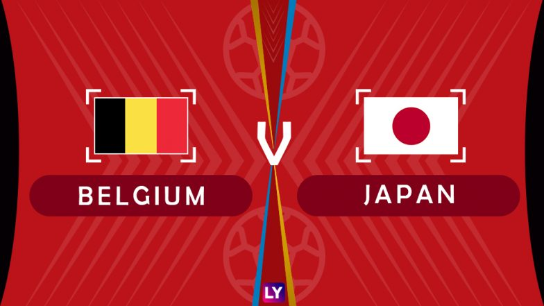 Belgium vs Japan, Live Streaming of Round of 16 Football Match 6: Get Knockout Stage Telecast & Free Online Stream Details in India for 2018 FIFA World Cup