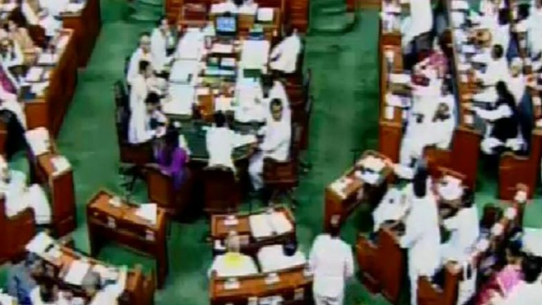 Citizenship Amendment Bill Debate: Upset With Rajanth Singh's Reply, Congress, TMC Stage Walk Out From Lok Sabha