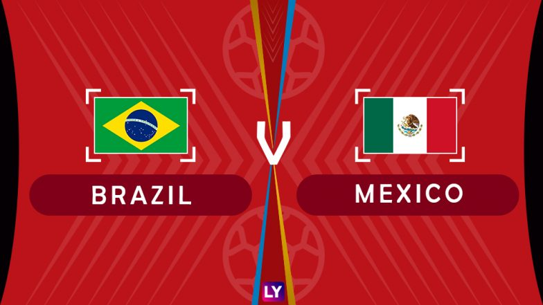 Brazil vs Mexico, Live Streaming of Round of 16 Football Match 5: Get Knockout Stage Telecast & Free Online Stream Details in India for 2018 FIFA World Cup