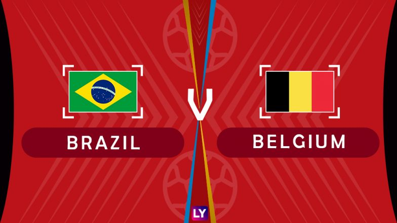 Brazil vs Belgium, Live Streaming of Quarter-Finals 2: Get Knockout Match BRA vs BEL Telecast & Free Online Stream Details in India for 2018 FIFA World Cup