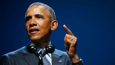 US Presidential Election 2020: Barack Obama Launches Searing Attack on Donald Trump, Appeals Voters to Elect Joe Biden