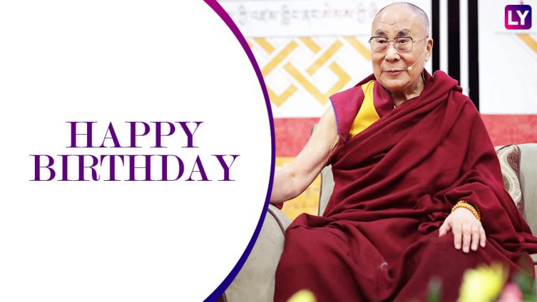 Dalai Lama Birthday Special: Famous 8 Quotes on Love and Compassion by Tenzin Gyatso As He Turns 83 This Year!