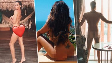 'Butt Naked Belfie' Is the Hot Trend Shanina Shaik, Sophie Kasaei, Marnie Simpson & Other TV Personalities Can't Get Enough Of! (See Bold Pics)