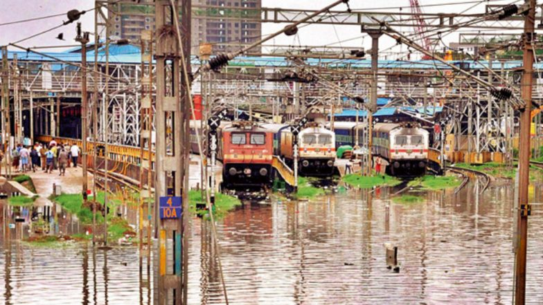 Bombay High Court Reprimands Railways Over Flooded Rail Tracks Around Mumbai, Says 'Central & Western Railway Have Not Done Anything'