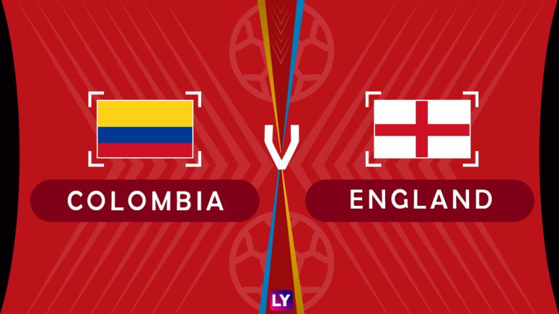 Colombia vs England, Live Streaming of Round of 16 Football Match 8: Get Knockout Stage Telecast & Free Online Stream Details in India for 2018 FIFA World Cup