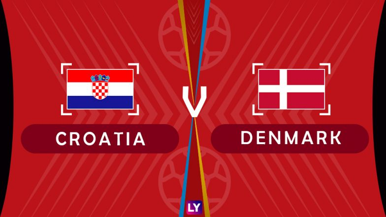 Croatia vs Denmark, Live Streaming of Round of 16 Football Match 4: Get Knockout Stage Telecast & Free Online Stream Details in India for 2018 FIFA World Cup