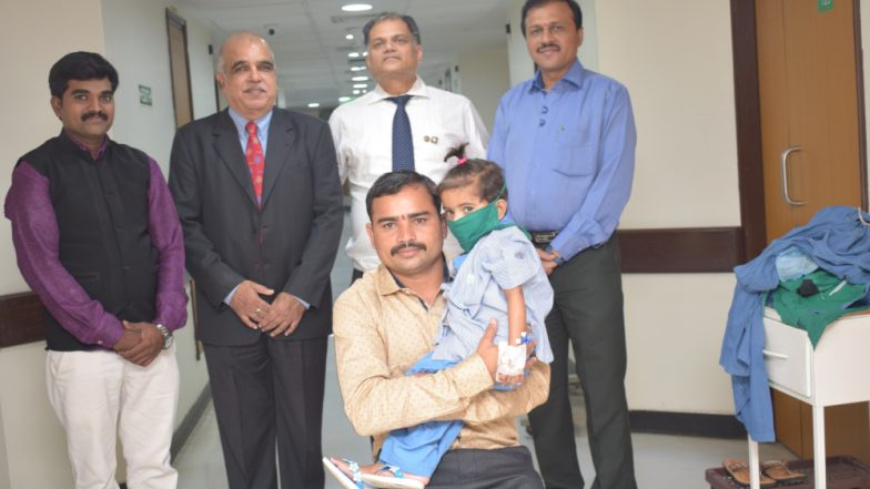 Chief Minister's Relief Fund, Maharashta Sponsors Baby Dhanashree's Heart Transplant By Joining Hands with Tata Trusts and Rotary Club of Mumbai