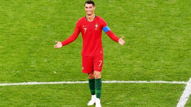 Cristiano Ronaldo Nets 700th Goal of His Career During Portugal vs Ukraine, Euro 2020 Qualifier (Watch Video)