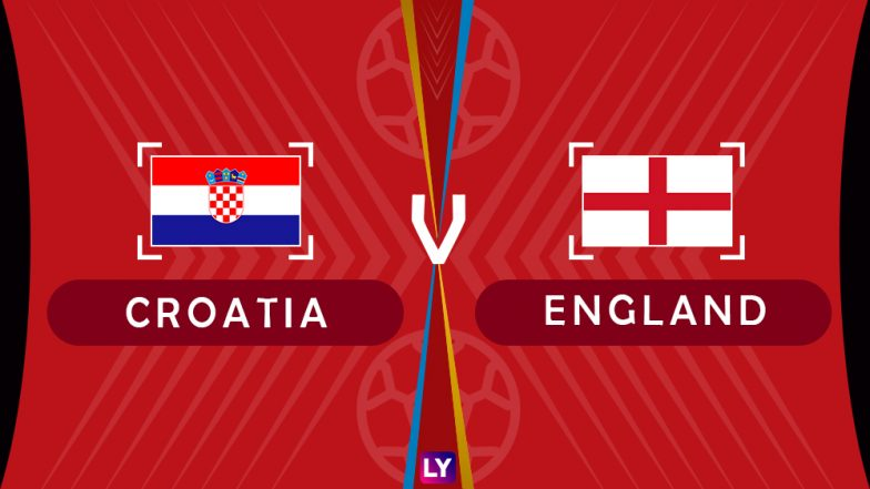 Croatia vs England, Live Streaming of Semifinal: Get Knockout Match CRO vs ENG Telecast & Free Online Stream Details in India for 2018 FIFA World Cup