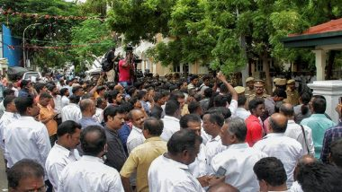 Tamil Nadu: DMK Workers Hold Protests Against Water Crisis in Coimbatore