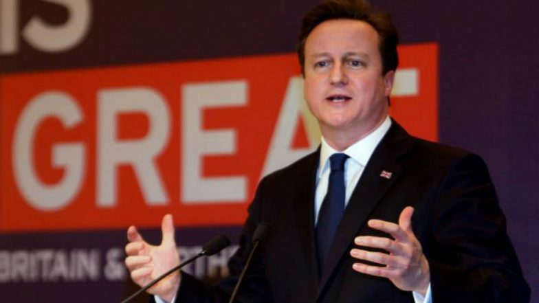 80 Per Cent Chance of Britain Leaving EU on Basis of Deal Agreed: David Cameron