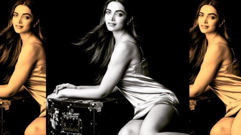 Deepika Padukone's Stylist Shaleena Nathani Shares a Sexy Still of Indian Actress in Seductive Satin Slip…It's HAWT!