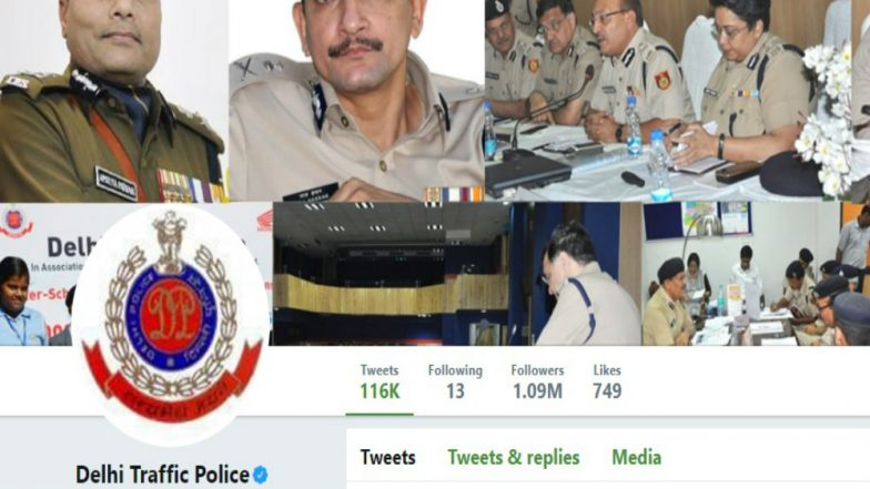 Delhi Traffic Police's Twitter Handle Hacked, Probe Initiated