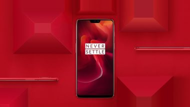 OnePlus 6 Red Edition Online Sale Today at 12PM IST; To Be Sold Exclusively via Amazon.in & OnePlus Store