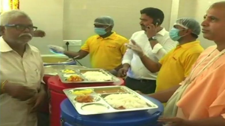 Anna Canteen Launched in Andhra Pradesh by CM Chandrababu Naidu; Breakfast, Lunch and Dinner at Rs 5 Each