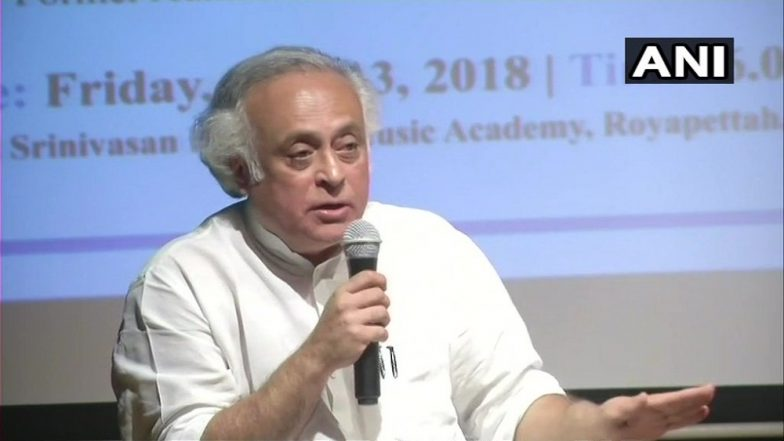'One Nation One Poll' Will Deny Ability to Enforce Accountability, Says Congress Leader Jairam Ramesh