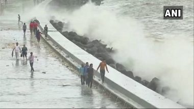 VIDEO of High Tide in Mumbai Today: Time, Schedule and Height of High Tide on July 15, 2018