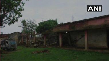 Jharkhand: Naxals Destroy School in Latehar Region