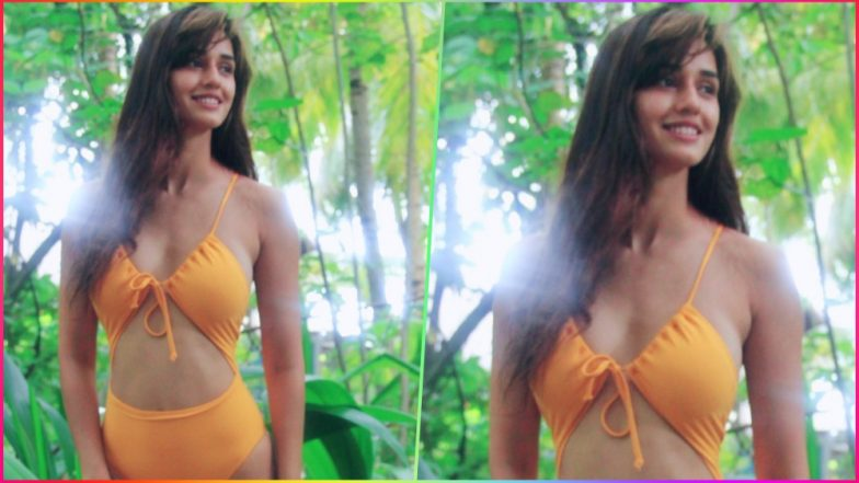 Disha Patani Is a Sexy Ray of Sunshine in This Cut-Out Yellow Monokini! See Picture