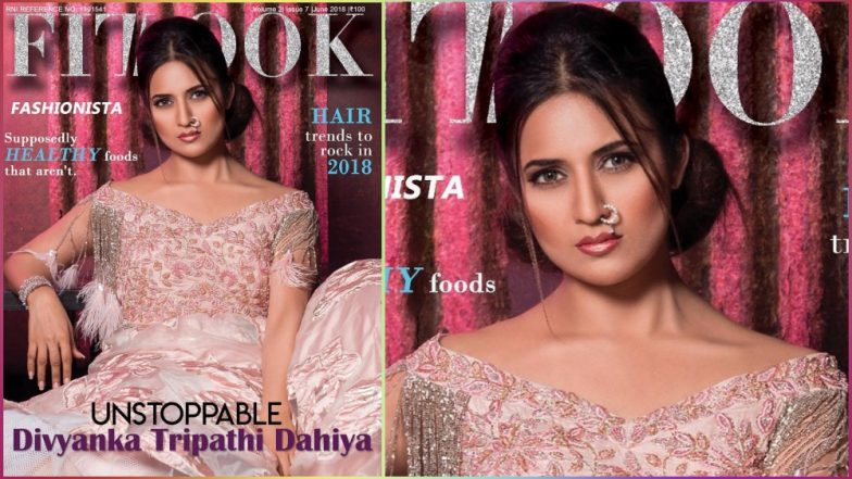 Divyanka Tripathi Fizzles on the Cover of FitLook Magazine, What's With the Contour and the Nose Ring?