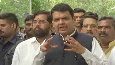 Maharashtra: ATR on Maratha Quota Recommendations to Be Tabled in Assembly, Says Devendra Fadnavis