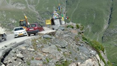 Himachal Pradesh: Two Dead After Car Rolls Down a Cliff Near Manali's Rohtang in Kullu